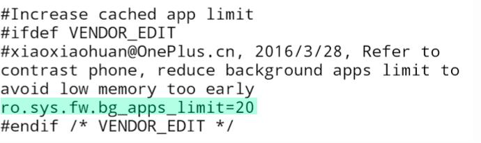 OnePlus 3 RAM