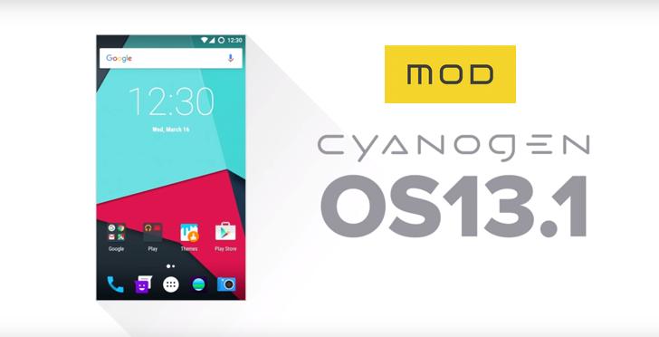 Cyanogen 13.1