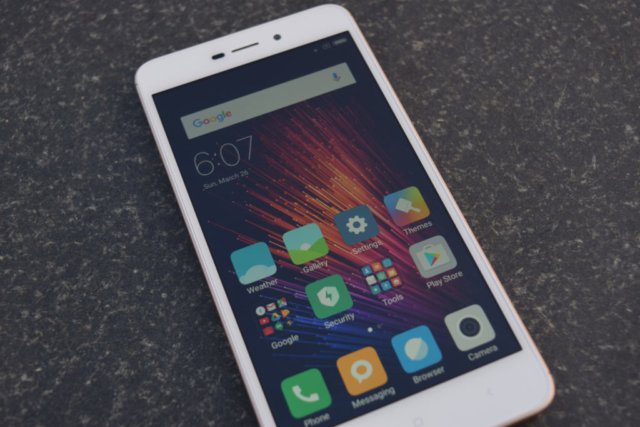 Redmi 4A screen