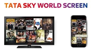 Tata sky worldscreen